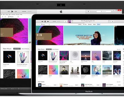 """Check out new work on my @Behance portfolio: """"iTunes"""" http://be.net/gallery/42822843/iTunes"""