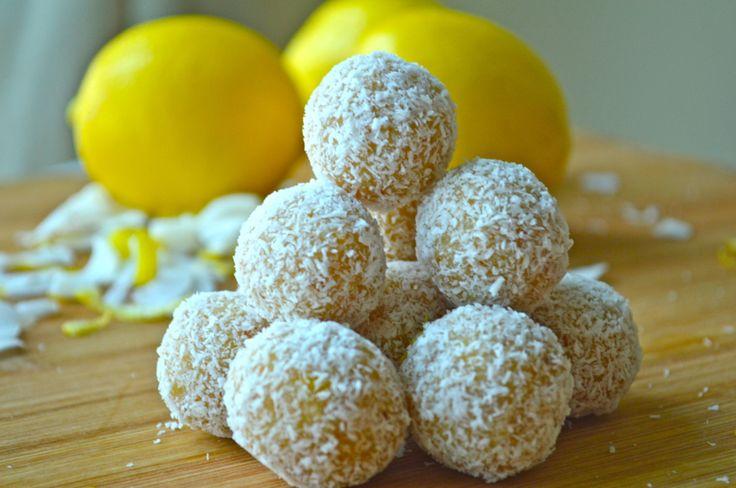 Sütés nélküli mindenmentes citromos kókuszgolyók /paleo, vegán/ - fitnesslife.hu
