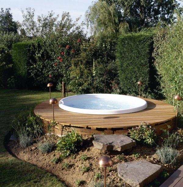 die besten 25+ swimmingpool ideen auf pinterest | deckbelag, my ... - Schwimmingpool Fur Den Garten