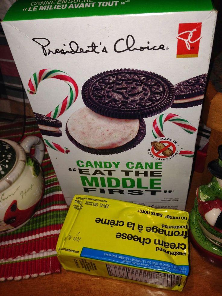 Oreo Candy Cane Christmas Truffles