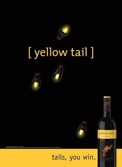 Yellow Tail Advertising