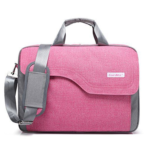 New Trending Briefcases amp; Laptop Bags: CoolBell(TM)15.6 Inch Nylon Laptop Bag Shoulder Bag With Strap Multicompartment Messenger Hand Bag Tablet Briefcase For iPad Pro/laptop/Macbook/Ultrabook/Men/Women/College,Pink. CoolBell(TM)15.6 Inch Nylon Laptop Bag Shoulder Bag With Strap Multicompartment Messenger Hand Bag Tablet Briefcase For iPad Pro/laptop/Macbook/Ultrabook/Men/Women/College,Pink   Special Offer: $29.99      322 Reviews CoolBell bases on the cutti
