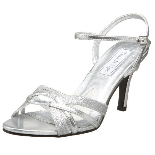 My Mother of the Groom shoes - love them!!  Touch Ups Women's Taryn Sandal,Silver,8 M US Touch Ups http://www.amazon.com/dp/B001J6OIK2/ref=cm_sw_r_pi_dp_vDF6ub0362SAE