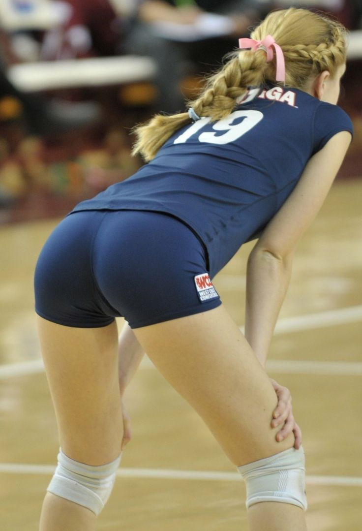 girls with big boobs in volleyball shorts