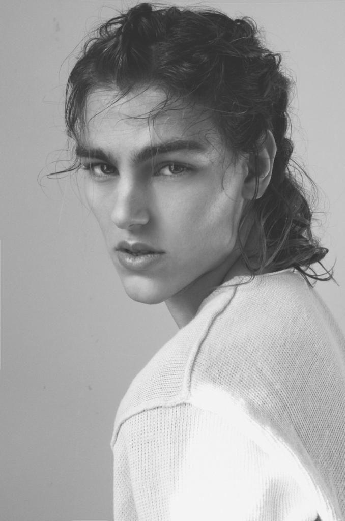 Gio Durante | Italian male model w/ long hair