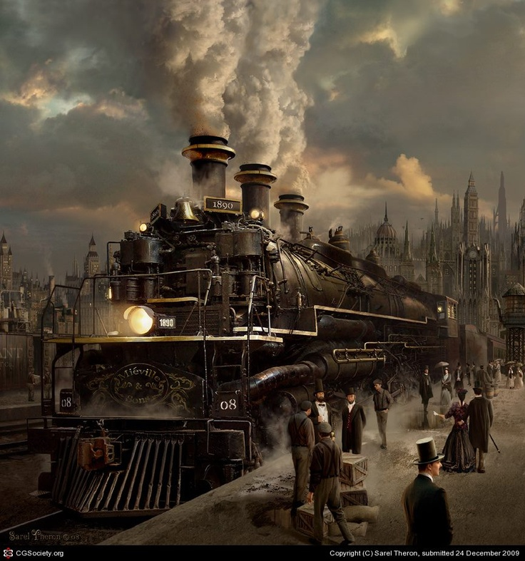 Steam Engine goodness.