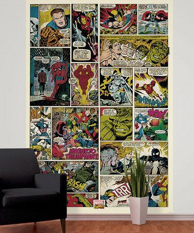 Comic Book Wall Murals 25 best boyos bedroom images on pinterest   comic books, bedroom