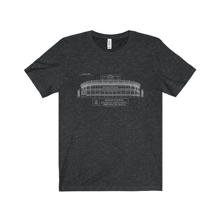 Beaver Stadium Jersey Short Sleeve Tee