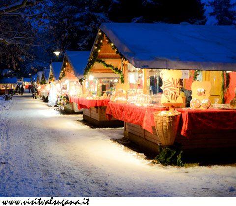 Imperdibili mete per gli amanti dell'atmosfera natalizia, ma anche per chi deve ancora completare la lista dei regali! http://bit.ly/MercatiniTN