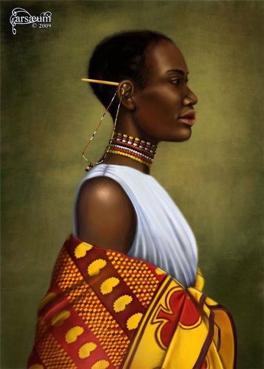 Arte Digital Africano, Miralo.. - Taringa!