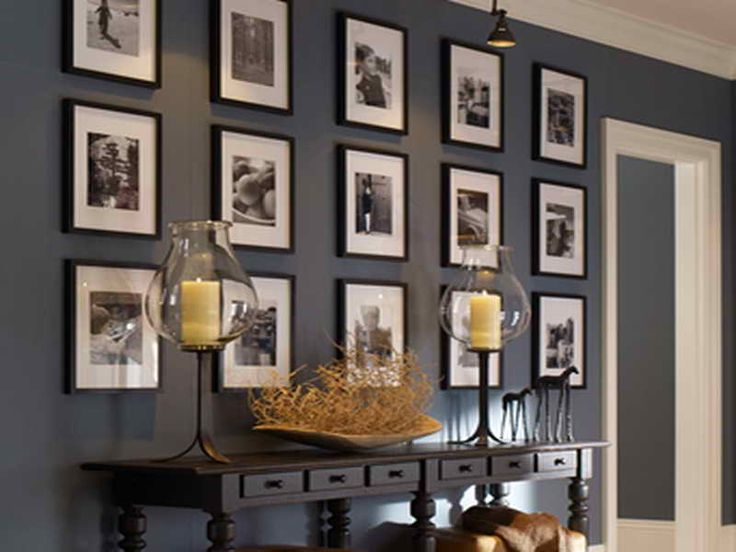 home office dark blue gallery wall. 198 best gallery walls images on pinterest wall ideas galleries and home office dark blue