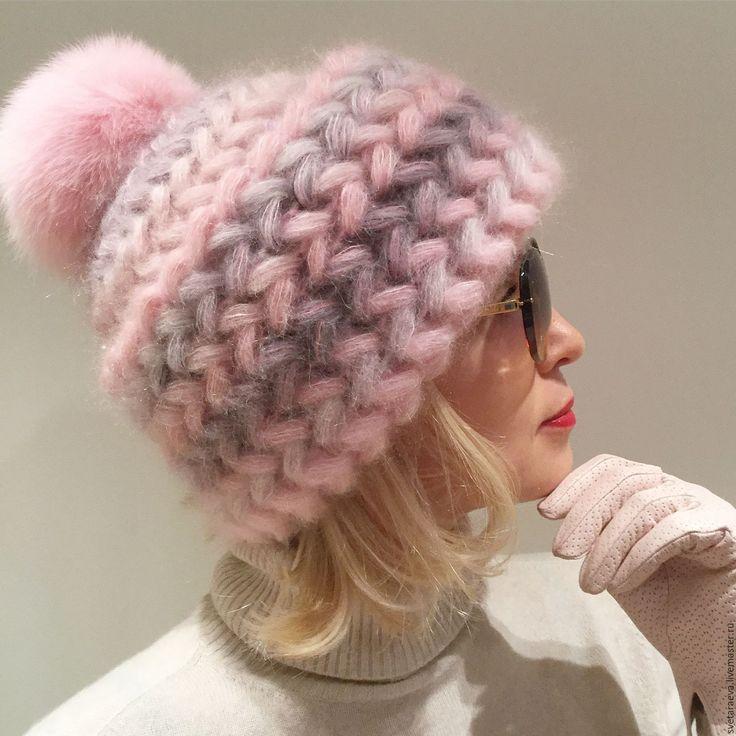 Вязаные женские шапки 2018 осень, зима, вена с описанием. Модные женские вязанные шапки 2018: схемы вязания спицами, мастер классы на фото.