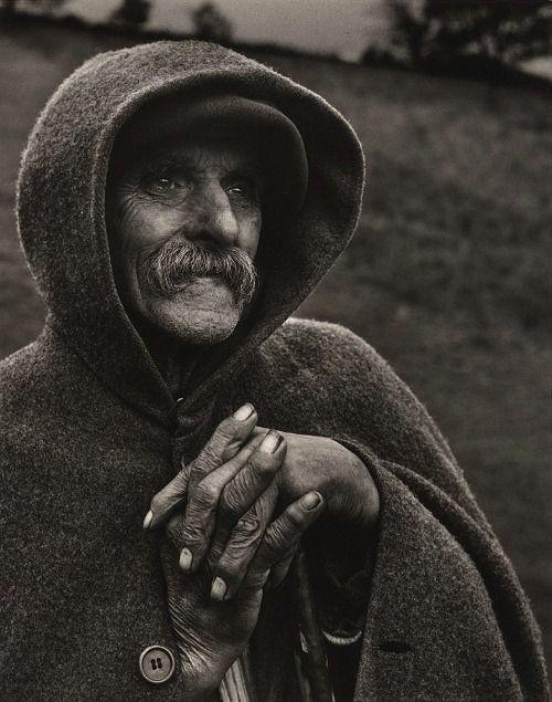 Jean Dieuzaide, Photographer. Berger des Pyrenees, col d'Aupin, 1954