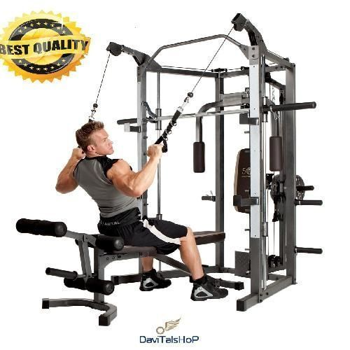 Home Gym Equipment Workout Weights Exercise Machine Adjustable Bench All In One At Home Gym Home Gym Equipment