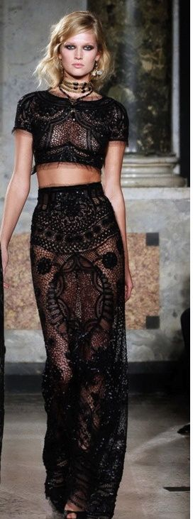 ~` EMILIO PUCCI `~ Ok. You only need to be: young, beautiful, skinny and daring to wear this.... :-)