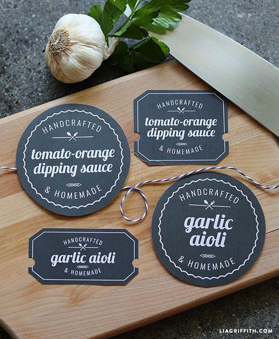 Printable Food Labels