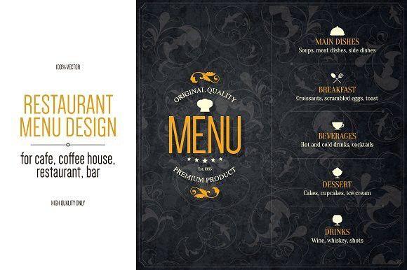 Restaurant menu design #restaurant