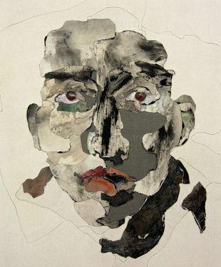 "Saatchi Online Artist Miseon Yoon; Painting, ""Face 13-25"" #art"