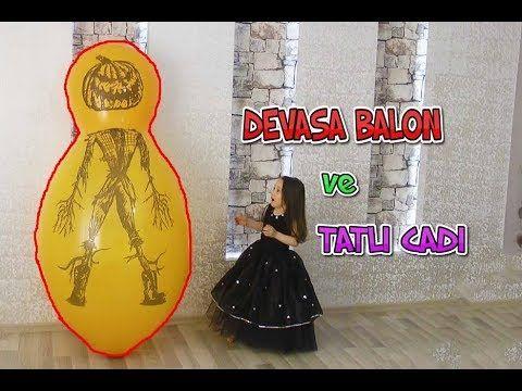 Öykü'nün Burnunda Devasa Balon PATLADI !!! Tatlı Cadı ve Sürpriz Oyuncaklar