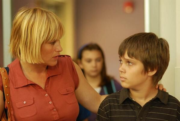 "patricia arquette walks her son to school in the film Boyhood :: Appreciating Motherhood in Richard Linklater's New Film ""Boyhood"" | Bitch Media"