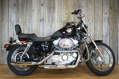 2002 Harley-Davidson® XLH-883 Sportster® Hugger® 883 - 4,679 miles - Located at Man O' War Harley-Davidson of Lexington, KY - http://www.chopperexchange.com/2002-XLH-883-Sportster_Hugger_883-291405-16#?utm_source=pinterest_medium=board_campaign=bike291405