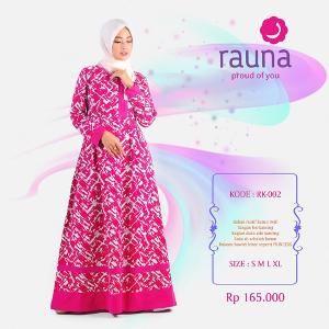 Gamis Rauna Model RK-002 Pink Magenta