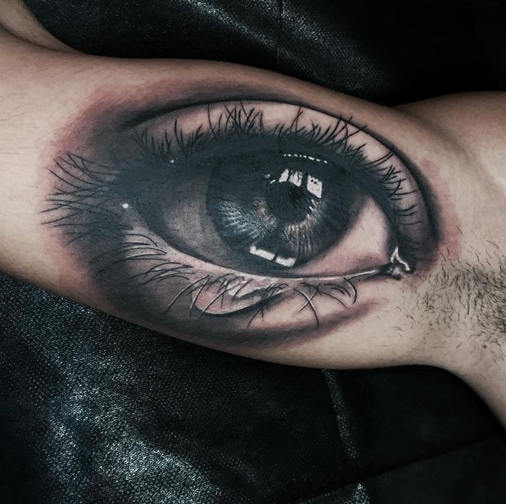 Realistic eye Artist Alessandro Raggi Ink Addicted Savona Italy