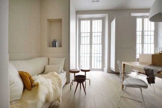 Atelier de joaillerie. Ambiance poudrée. Parquet en chêne. lslarchitects.com Photos: Katrin Vierkant http://www.4kant.de // walid akkad, paris – jewelry store