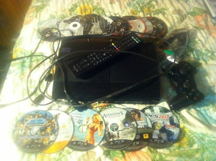 Sony Playstation 3 Super Slim 250 GB Charcoal Black Console (CECH-4001B - NTSC)