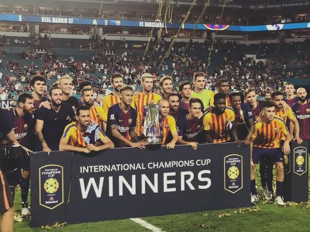 2017 ICC Cup winner Barcelona match result FC Barcelona 3-2 Real Madrid. Let See match details and get more news of neymar.