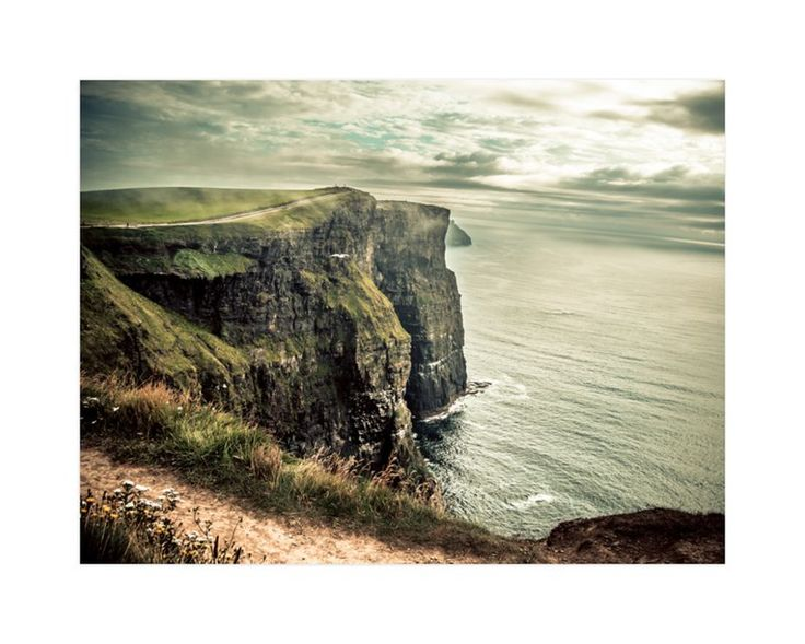 """Cliffs of Moher in Color"" - Art Print by AR Photography in beautiful frame options and a variety of sizes."