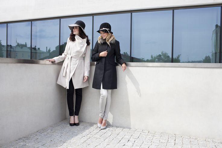 #danhen #fw2015 #jesien #kampania #campaign #elegant #hats #coats  http://www.danhen.com/product-pol-285-Jesienne-plaszcze.html