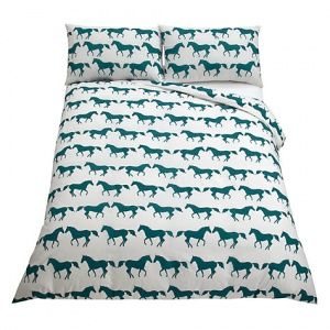 "Anorak ""Kissing Horses"" bed set"