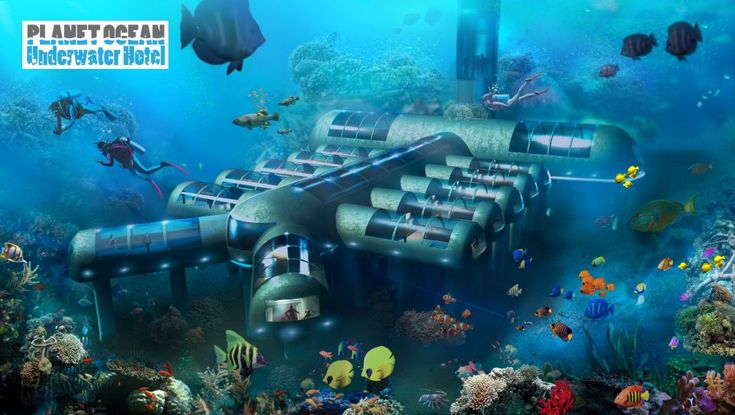 These 5 Underwater Resorts Will Literally Put You Under the Sea