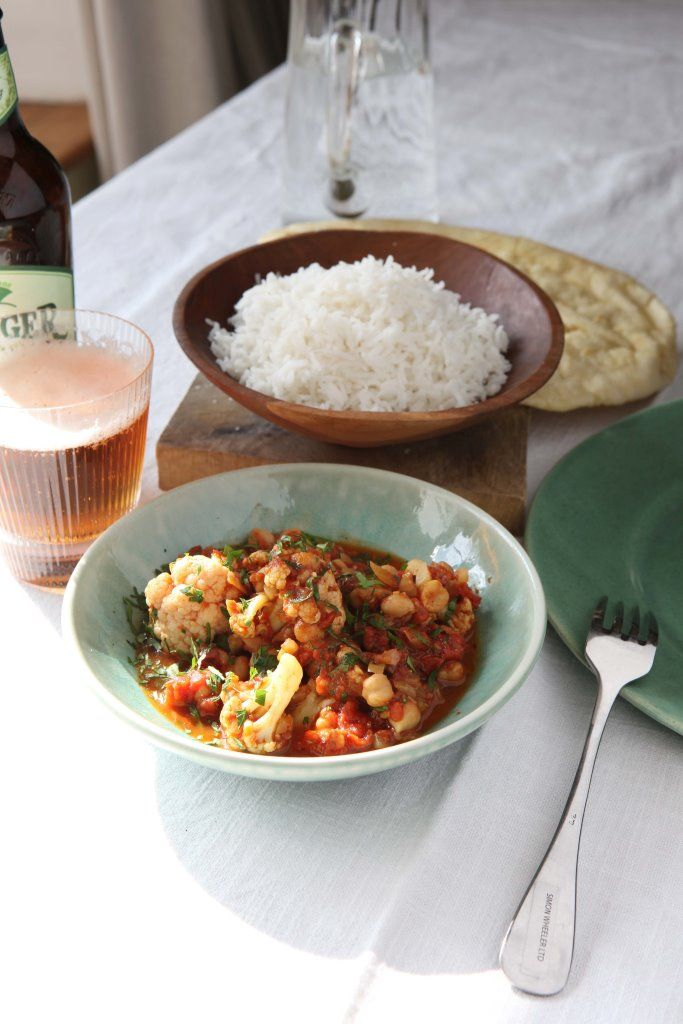 This beautifully simple, light curry is closely based on a wonderful recipe from chef Angela Hartnett. It's always preferable to use some carefully selected ground and whole spices in a recipe like this but, if you're in a hurry, use a ready-made curry powder instead of the dry spices.