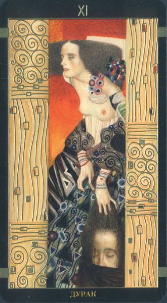 Golden Tarot de Klimt