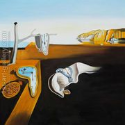 Persistence of Memory  by Salvador Dali (after)
