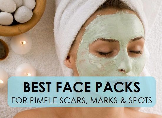 Natural Face Packs for Pimple Marks, Dark Spots, Acne marks