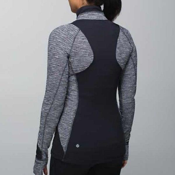 LULULEMON Race Your Pace Half 1/2 Zip Pullover Coco Pique Size 10 VGUC | eBay