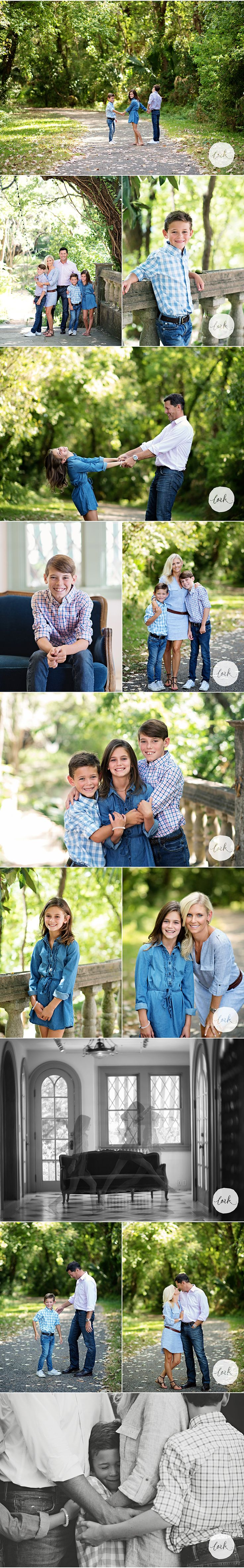 Austin, TX family portraits... it was blazing hot outside, but you'd never know!