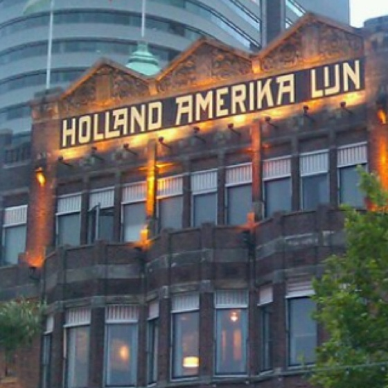 Hotel New York, Rotterdam, Zuid-Holland.
