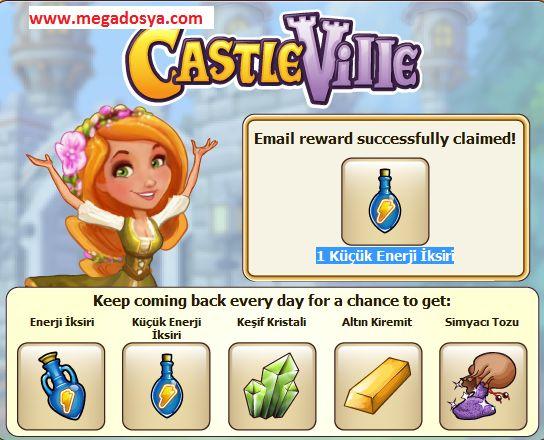 Facebook Castleville Free Gift 23 June