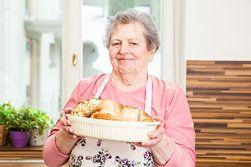 Ilustrační foto ke článku Babiččiny recepty: Šťavnaté kuře plněné petrželovou nádivkou