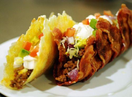 BBQ Bacon Taco Shell  Recipe #BBQ-Bacon #Taco-Shell