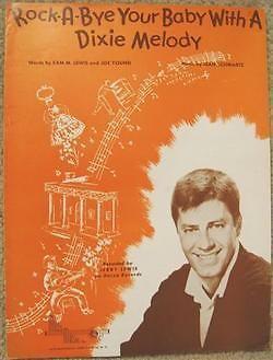 Vintage-Sheet-Music-JERRY-LEWIS-Recording-1946-RARE