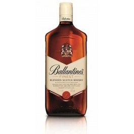 Ballantines finest is a complex, refined and elegant blended scotch whisky. It is regarded as the taste to satisfy a modern style. The brand's light gold colour and unmistakeable taste come from a complex mix of carefully selected malt and grain whiskies all aged for at least three years and many for much longer. The signature malt flavours of Miltonduff and Glenburgie give Ballantines finest hints of chocolate, red apple and vanilla. 40% Alc./Vol.