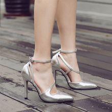 Alta Qualidade Dos Saltos Altos Das Senhoras Sapatos de Salto Alto Mulheres Bombas Stiletto Mulher Partido Sapatos de Casamento Do Dedo Do Pé Apontado Saltos Gatinho Scarpin(China (Mainland))