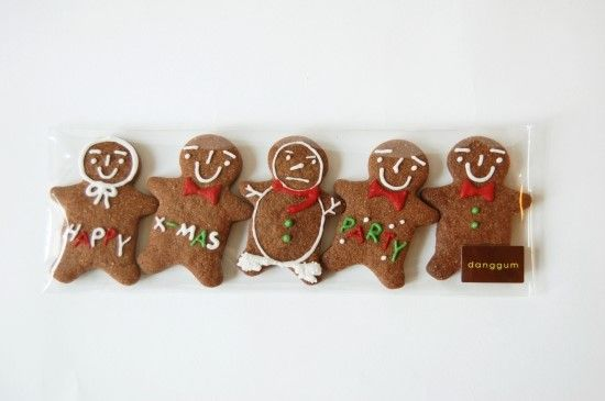 christmas cookies. ginger bread man