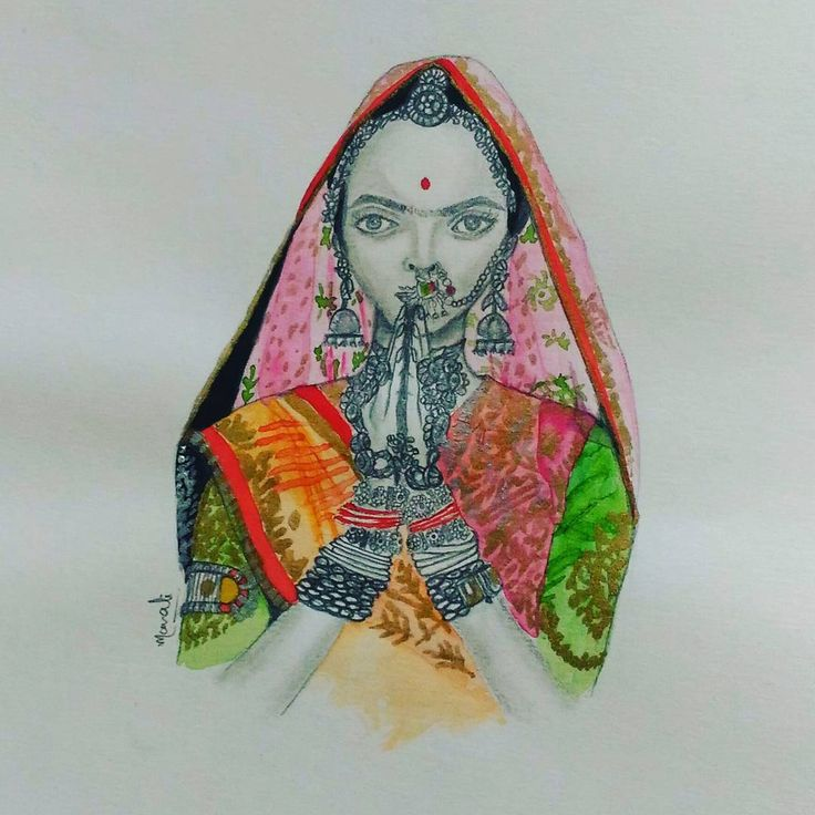 """60 Likes, 3 Comments - Dedicated to Art 🇮🇳 (@creativitytrance) on Instagram: """"Today's inspiration - """"Padmavati -The Goddess Queen"""" movie's first look released yesterday!! I…"""""""