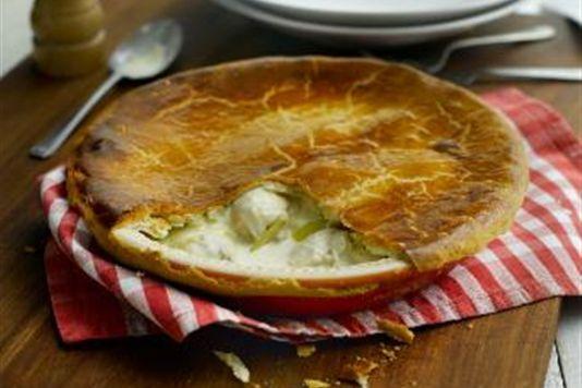 Marco Pierre White's chicken and leek pie recipe